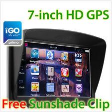 "7"" HD GPS Car Portable Navigation Navigator Navi System Sat Nav Tunez iGO Primo"