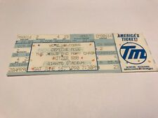 RARE UNUSED DEPECHE MODE Ticket NY MADISON SQUARE GARDEN 9/25/1993