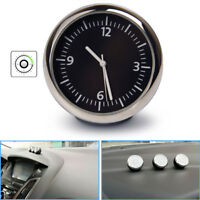 R27 Mini Uhr Kfz Auto Zeitanzeige Autouhr Zeituhr Quarzuhr Digital