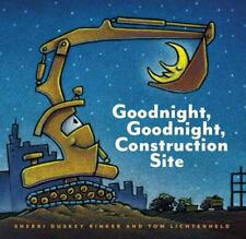 Goodnight, Goodnight Construction Site [Hardcover Books for Toddlers, Preschool