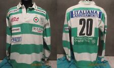 maglia BENETTON RUGBY TREVISO MATCH WORN TREVISE maillot shirt jersey