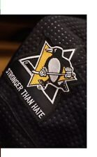 Stronger Than Hate patch Pittsburgh Penguins Jersey