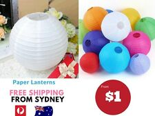 Paper Lanterns for Wedding Party Festival Decoration- Can Mix and Match Colour