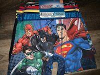 Justice League ~ Boy's Boxer Briefs 4-Pair Underwear Athletic Stretch ~ Size-10