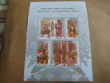 2018 Indian Fashion - Through the Ages - Series I - Miniature sheet - MNH