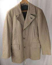 Hugo Boss Selection Landor Khaki Classy Sporty Vented Coat Jacket, SZ 50, US 40