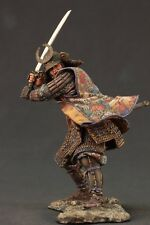 Tin toy soldiers ELITE painted 90mm  Samurai in full  armour.