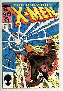 Uncanny X-Men 221 - 1st Mr Sinister - High Grade 8.5 VF+