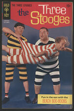 The THREE STOOGES #44, 1969, Gold Key Comics - VG+