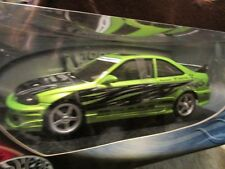 HONDA CIVIC SI custom GREEN Import Racer 100% hotwheels 1/18 diecast tuners