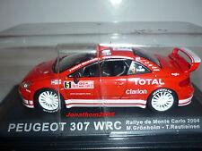 PEUGEOT 307 WRC N° 5 MONTE CARLO 2004 GRÖNHOLM RAUTIAINEN au 1/43°