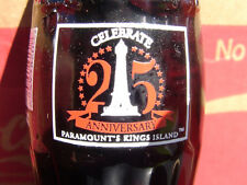 Kings Island Amuesment Park Coca-Cola Coke Bottle