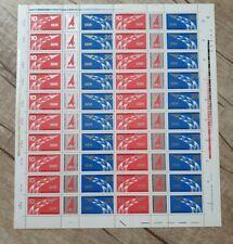 Briefmarke Bogen DDR Meister von Morgen 1977