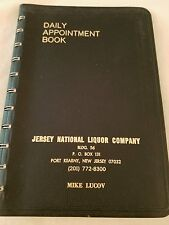 1976 Jersey National Liquor Company Daily Appointment Book