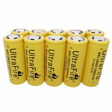 Batería 10 un. 26650 12800mAh Li-Ion 3.7V baterías recargables para la lámpara LED Reino Unido