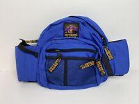 Pet Dog Cat Travel Gear Outward Hound Blue Waist Bag Fannie Pack