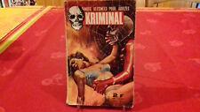 BD adulte KRIMINAL N.M.P.P.1967 mensuel N° 7 (R17x2)