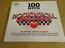 5-CD BOX / 100 HITS ROCK 'N' ROLL LOVE SONGS