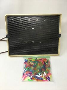Vintage 1967 Hasbro Lite-Brite toy and 200++  pegs!!!! Light Bright-Works