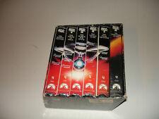 Star Trek - 6 VHS Film Set -15169- Retro Angled Box - Special Versions
