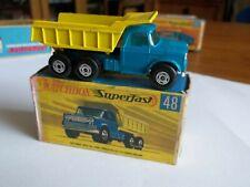Matchbox Superfast 48 - Dodge Dumper Truck