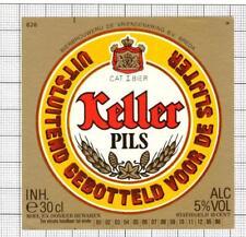 HOLLAND de Vriendenkring BV,Breda KELLER 30cl 85-86 826 beer label C1846 017