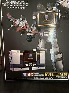 Transformers Masterpiece MP-13 Soundwave KO