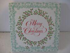 "Royal Doulton Tableware Plate - A Christmas Poem Desert Plate 8.25"" Bone China"