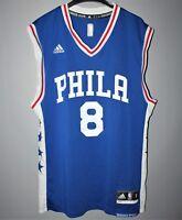 PHILADELPHIA 76 ERS NBA BASKETBALL JERSEY SHIRT PHILA #8 OKAFOR ADIDAS