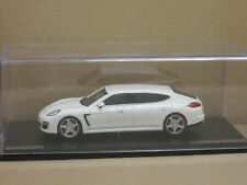 Porsche RUF Panamera RXL in weiß, GLM, o.OVP + Vitrine, 1:43, limitiert