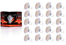 20X GU4 MR11 LED Lampe von Seitronic 1,5 Watt, 150LM und 12 LEDs Warm weiß 2900K