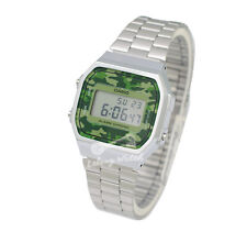 -Casio A168WEC-3D Digital Watch Brand New & 100% Authentic