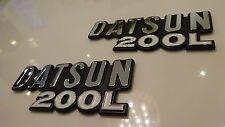 DATSUN Laurel C230, Datsun 200L New Plastic FENDER EMBLEM, 200l Emblem