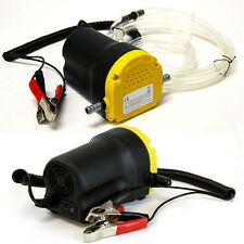 12V 5amp DC Motor Oil Diesel Extractor Scavenge Suction Transfer Pump Jet Gas