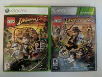 Lego Indiana Jones 1 & 2 ( Xbox 360) Tested - FREE SHIPPING