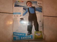 Salopette Pantalon ski Garçon 12-24 mois 86/92 cm LUPILU qualité Neuve + CADEAU