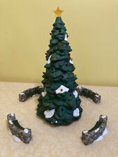 """Dept 56""""Town Tree� and """"Town Tree Trimmers� Dickens' Village Series"""