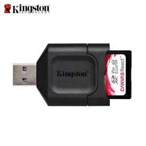 New Kingston MobileLite Plus High Performance SD Memory Card Reader USB 3.2 Gen1