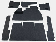 1958-1968 VW Bug Sedan Basic Carpet Kit 7pcs(w/Footrest), Black