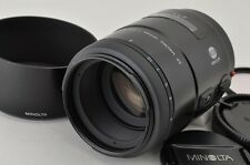 MINOLTA AF 100mm F2.8 MACRO New Second Version for Sony Minolta Alpha #170707i
