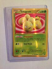 Exeggcute Secret Rare Pokemon Card 102/101 Plasma Blast Near Mint Minus (NM-)