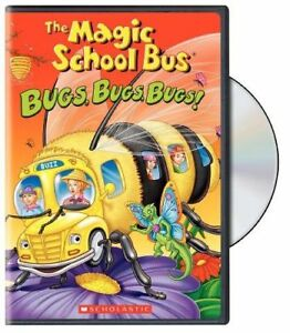The Magic School Bus: Bugs, Bugs, Bugs! (DVD,1994) Scholastic - FREE POST