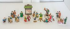 Department 56 Lot of Dickens and Christmas in the City Village Figurines