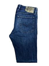 Original Diesel Waykee 0823K Reg Straight Leg Blue Denim Jeans W32 L34 ES 7485