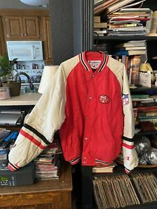 Vintage San Francisco 49ers Red/Black/White LARGE Champion