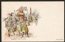1898 AUSTRIA HUNGARY MINT POSTAGE PREPAID POSTCARD ROYALTY LOUIS I OF HUNGARY