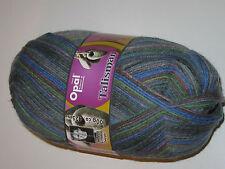(7,95€/100g) Opal Sockenwolle Talisman 9272 Weisheit gau grün blau braun