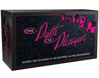 PATH TO PLEASURE ADULT BOARD GAME Adults Only Romantic Gift Sex Aid