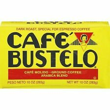 4 packs of Cafe Bustelo Ground Espresso Coffee 10oz Brick - Free Shipping