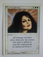MTG Magic the Gathering English Reverse Damage 1994 Revised MP Off-Center